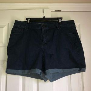 Lane Bryant Plus Size Blue Jean Shorts
